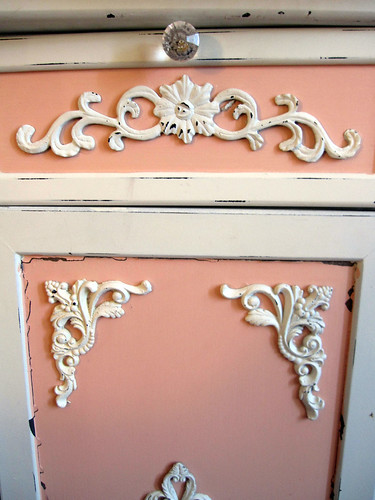 Up-Cycled Frou Frou Cabinet! 7