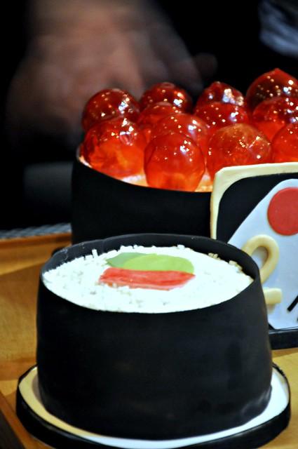Q b in cucina quanto basta torte sushi for Isola cucina a forma di torta