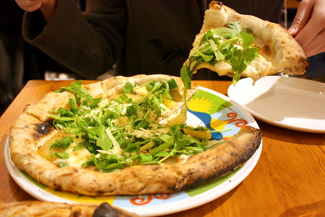 Pear Pecorino Pizza