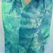 Maidenhair Fern silk chiffon scarf