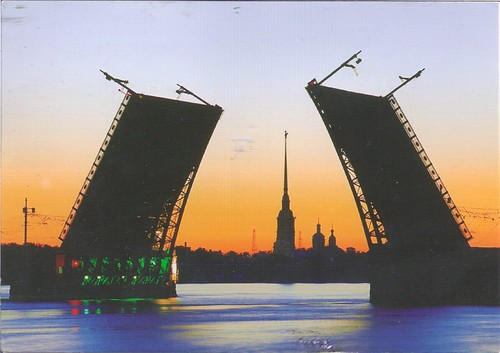 The Palace Bridge-Russia