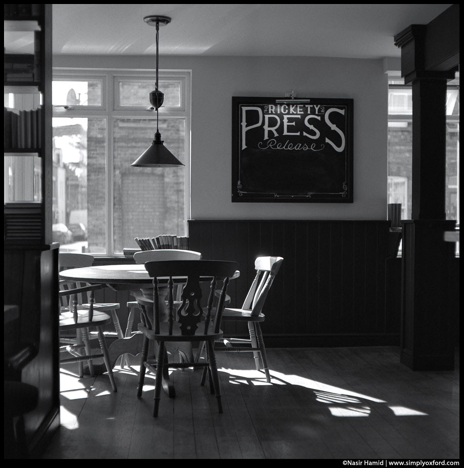 The Rickety Press pub interior