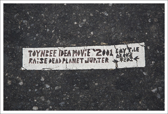 Toynbee Tile 19th and JFK