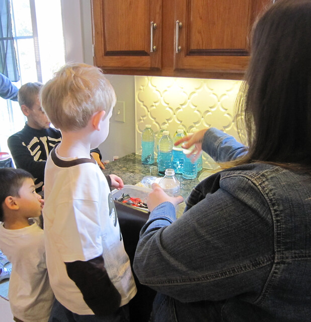 Pirate Birthday Party Activity Ocean in a Bottle - web