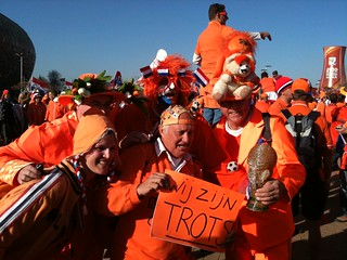 Netherlands Supporters at Soccer City