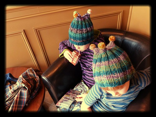 Big Quinault Hat (L) & Little Quinault Hat (R)