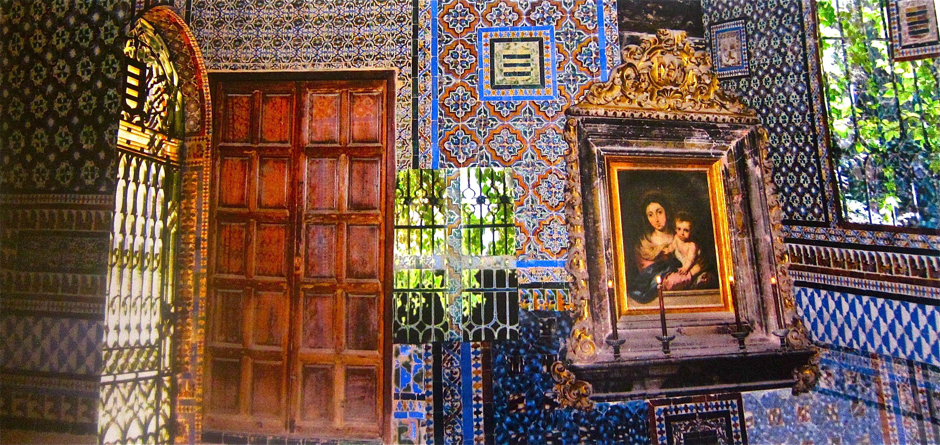 Alcazar Cordoba Interior 2 Tiles Spain