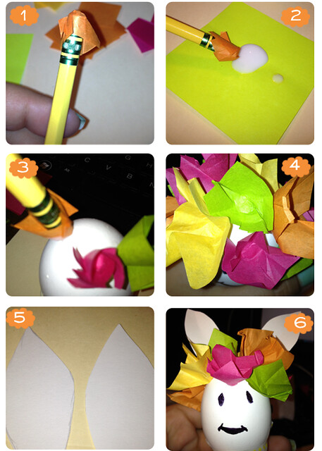 how to make cascarones confetti filled eggs easter amiguitos conejitos craft activity