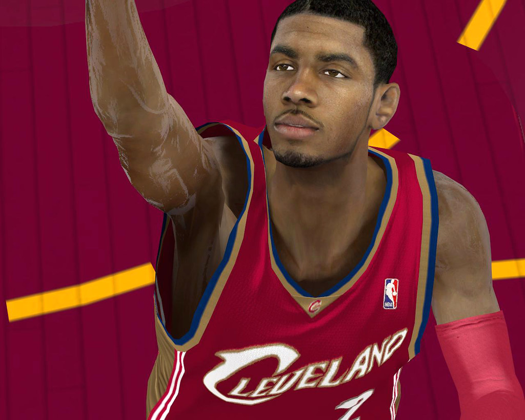 Pin nba 2k12 kyrie irving real cyber face w tattoos patch for Ricky rubio tattoo