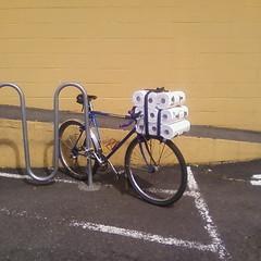 Paper-towel bike