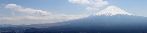 Viewing Fujiyama from Tenjoyama