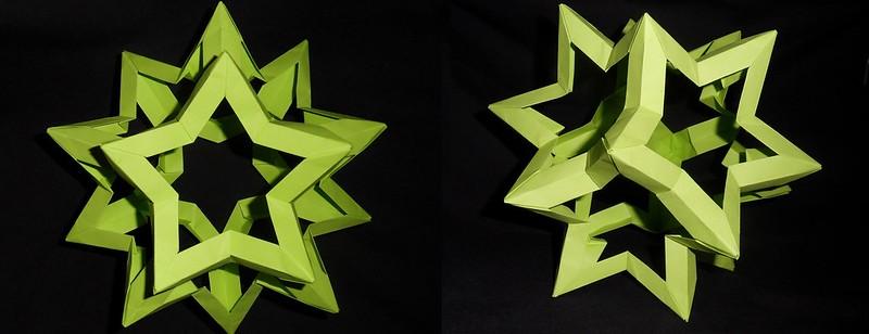 оригами, модулни оригами, фигури от хартия, Неферет