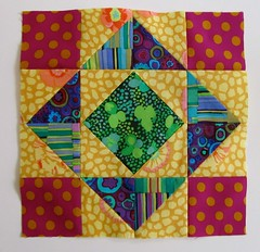 Triangle squares block