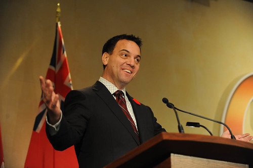 Second day of the OES begins with remarks from  Tim Hudak, Leader of the Official Opposition