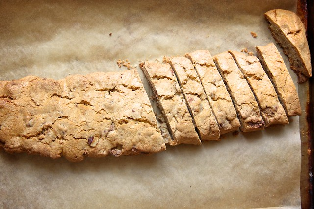 Candied Pecan Biscotti | Joy the Baker