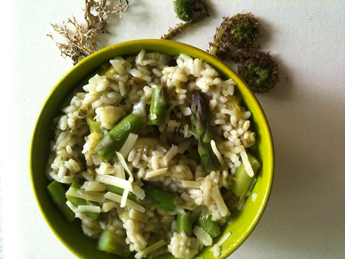 Spring Forest Risotto by Ayala Moriel