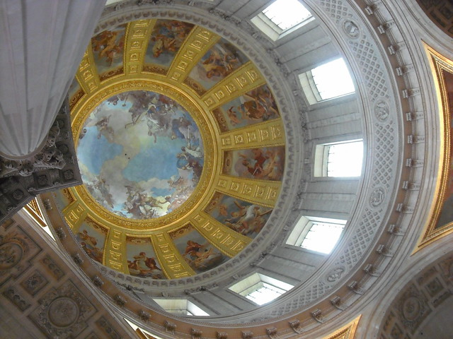 Invalides - ceiling