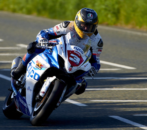 Guy Martin at the Isle of Man TT, Superstock race