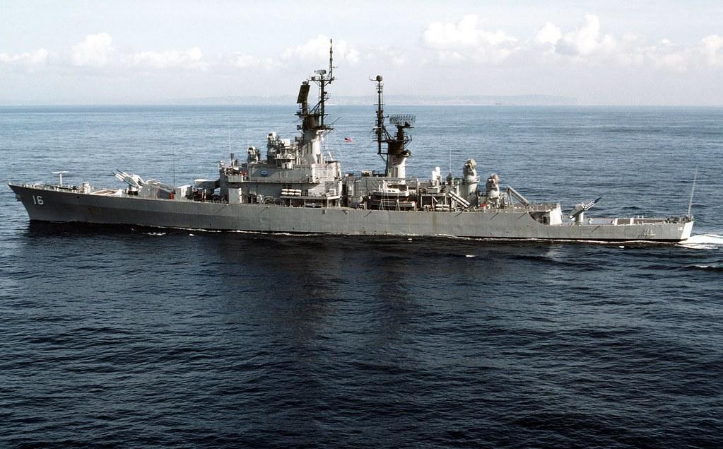 USS Leahy (CG-16) 1983