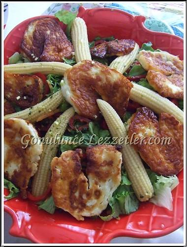 hellimli salata