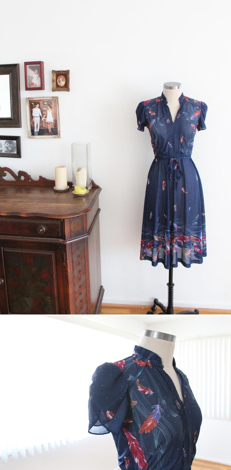 Glass and Sable Home Closet Tool Cassie Dias Moon Face flea market dress