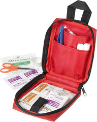 32 Piece travel first aid kit