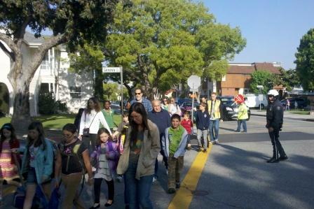 Glendale Walk to School Day