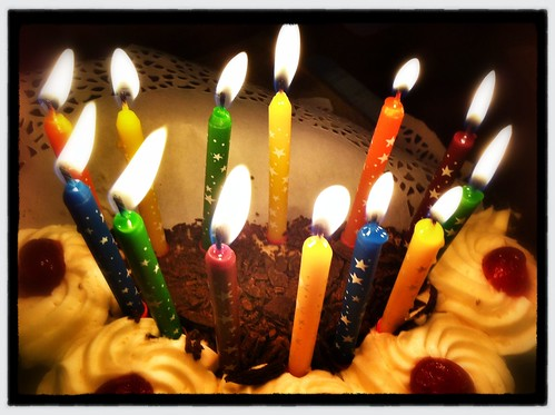 Thirteen candles. Day 155/366.