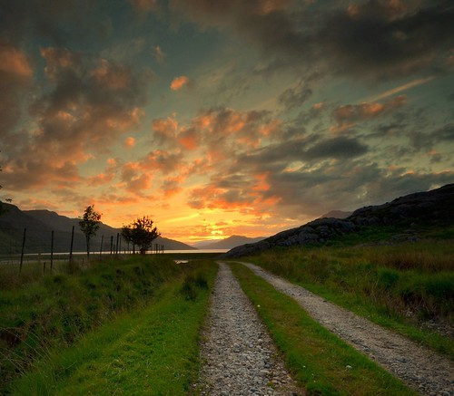The path to enlightenment - Scottish Highlands by Michael~Ashley