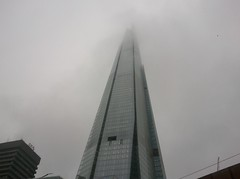Foggy shard