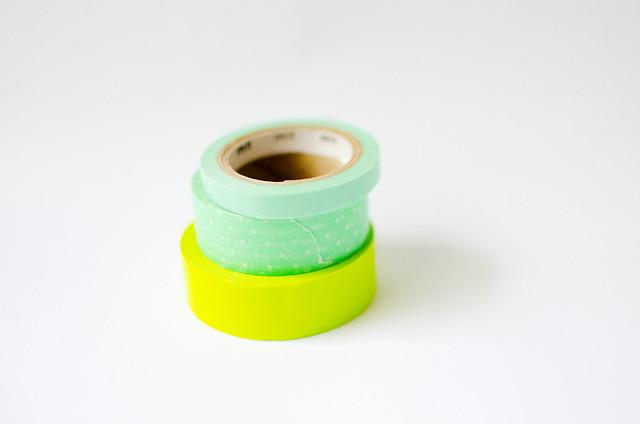 green washi