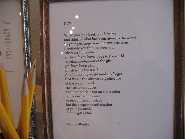 Poem at Paper Hammer