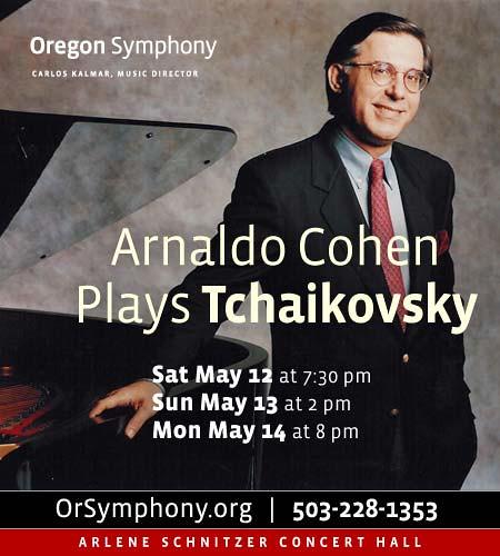 Cohen Plays Tchaikovsky @ Oregon Symphony