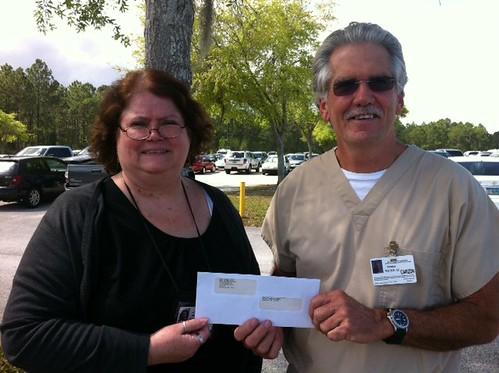 Corizon employee receives Florida's first spot bonus award