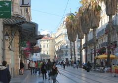 Montpellier, rue de Maguelone.