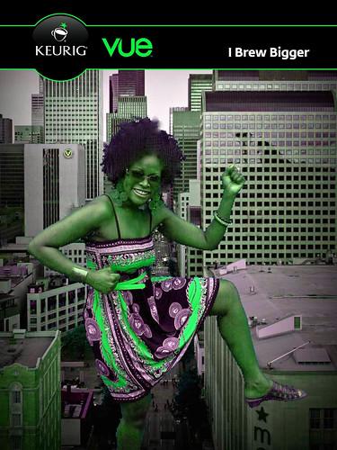 Fun - getting my incredible Hulk on