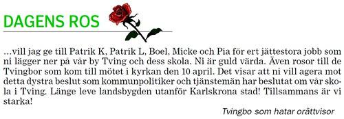 2012-04-19 BLT, Dagens ros 1