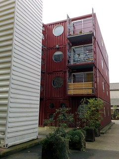 Container City I, London (by: fairlybuoyant/Gilda, creative commons license)