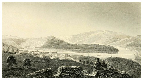 016-El Duero desde Pezo da Regoa-Portugal illustrated in a series of letters-1829