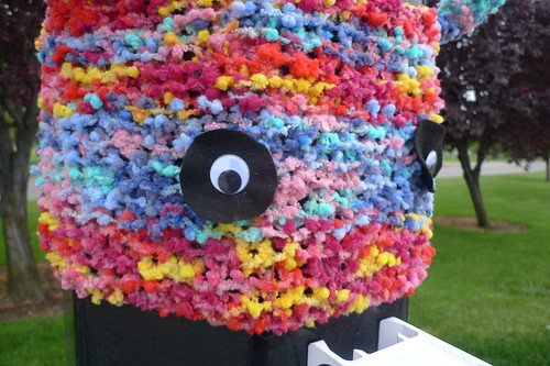 Yarn Bob-omb! detail