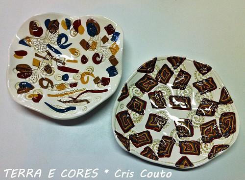 Pratos com marmorizado by cris couto 73