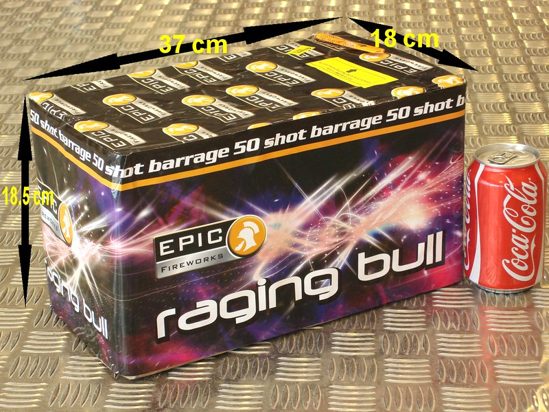 Raging Bull by Epic Fireworks