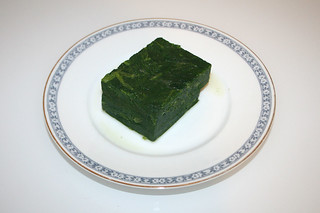 02 - Zutat Spinat / Ingredient spinach
