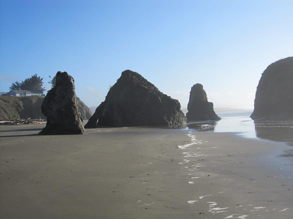 Seaside Creek Beach Mendocino County California