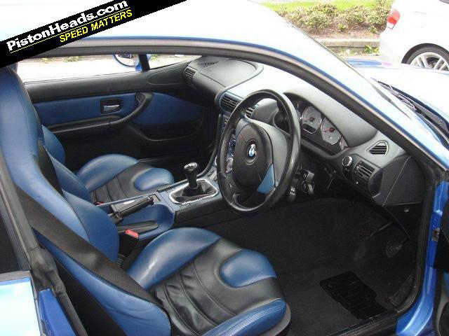 2002 M Coupe | Estoril Blue | Estoril/Black