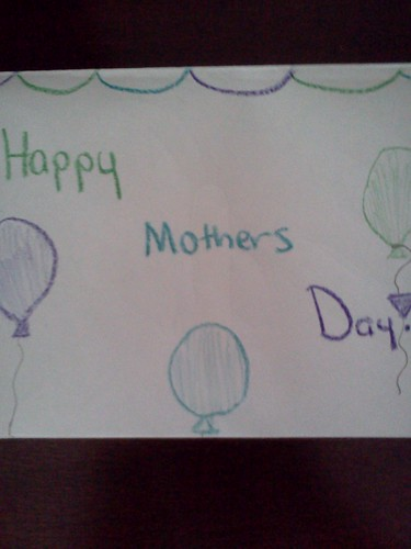 Mother's Day Card from Breann
