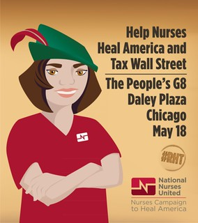 Help Nurses Heal America and Tax Wall Street