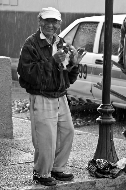 Street Preacher in San Cristobal