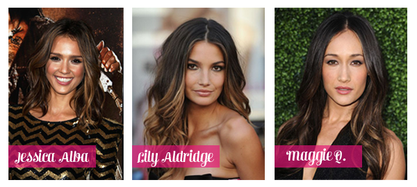 ombré hair inspirations