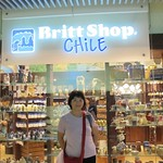 Jeanne in Chile - Santiago Airport